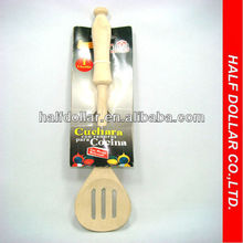 1pc of High Quality Wood Salad Spoon/Cuchara For One Dollar Item