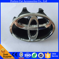 Car grille front logo chrome emblem Badge For Toyota Camry