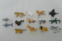 mini/small rubber soft toy animals