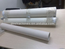 1.9 kg/cm3 bulk density industrial AL2O3 ceramic alumina pipe for casting stell