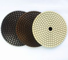 100*5mm high grade resin diamond wet polishing pad for polishing ground