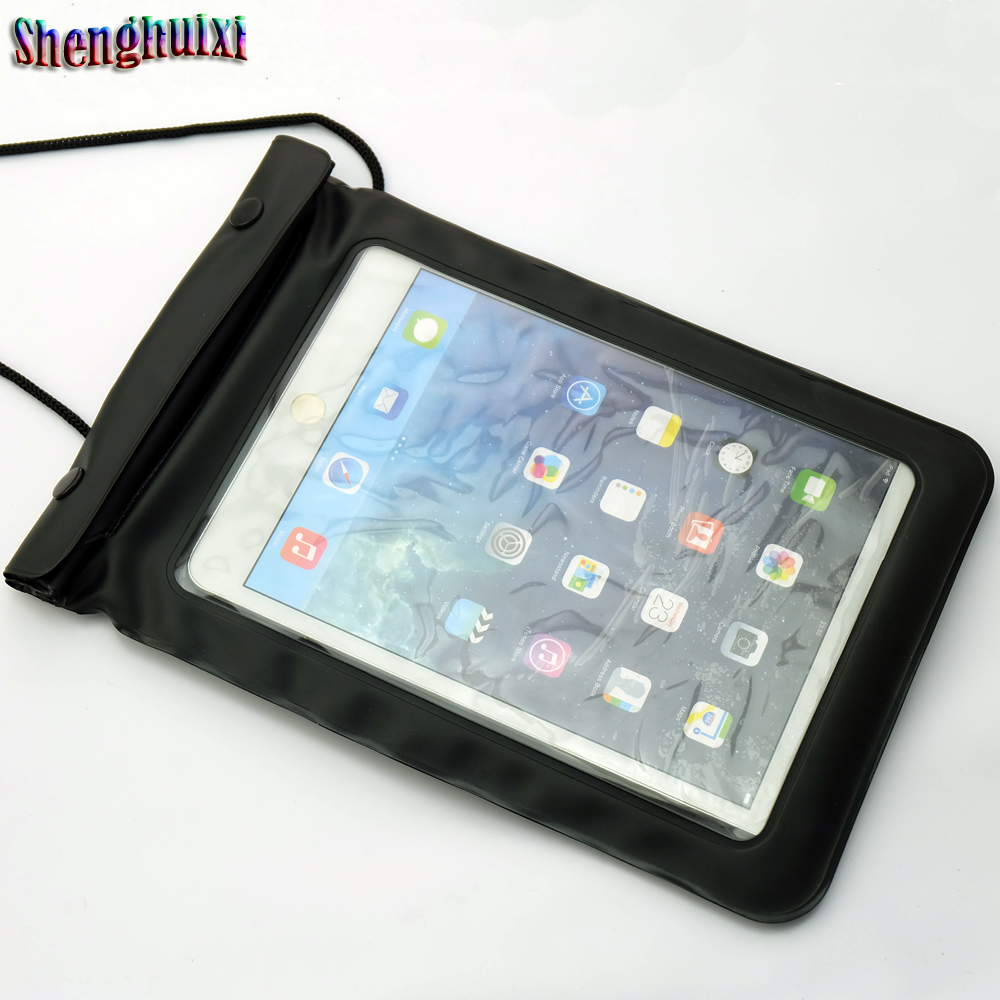Outdoor back cover Customized Logo waterproof bag for ipad mini
