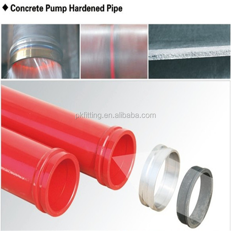 Concrete Pipeline Accessories : Construction machinery pipe fitting d concrete