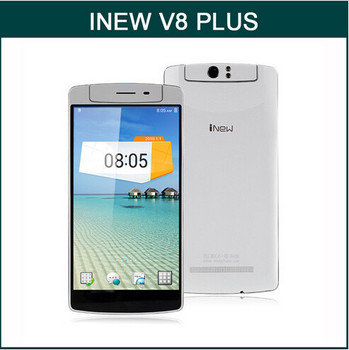 "in stock5.5"" Original Inew V8 Plus MTK6592M Octa Core Mobile Phone Android 4.4 13.0MP Free Rotation Camera 2GB RAM 16GB ROM GPS"