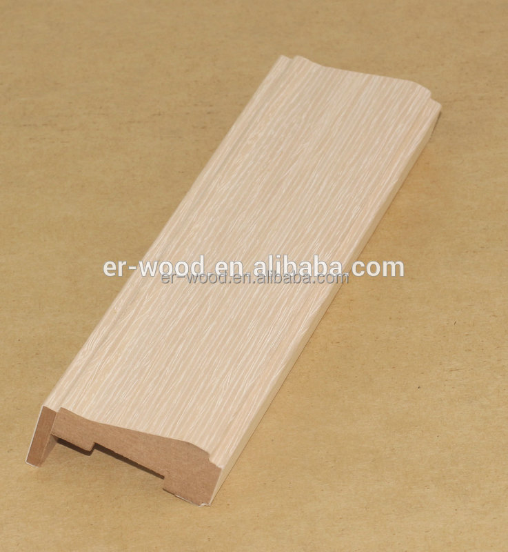 White oak customized wood door frame window frame for sale