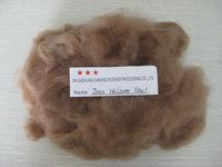 100% virgin dyed brown acrylic fiber, nice quality, 1.5D*38MM