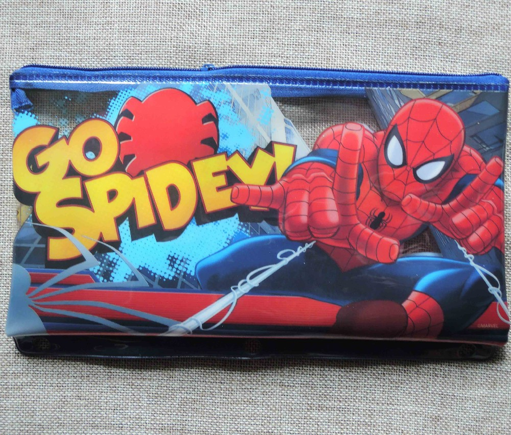 Colorful printing plastic pencil case,PVC pencil case,pencil case with zipper
