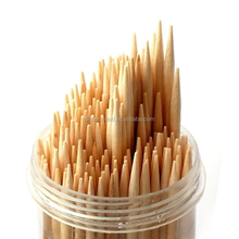 disposable wooden flat round toothpicks in China / cello wrapped toothpick / paper wrapped toothpick