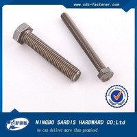 Ningbo Sadis DIN961,DIN6921 Hexagon Head Bolts With Flange Strength Shank and Half Thread Carbon Steel Stain,Hexagonal head bolt