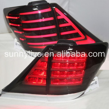 For TOYOTA 2007-2014 ALPHARD LED Tail Lamp LED Smoke Black Color YZ