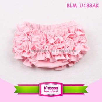 boutique cotton kids ruffle diaper cover baby bloomers wholesale diaper cover baby bloomers ruffle infants and toddlers clothing