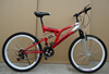 Shockproof mountain bike/ off-road bikes / soft-tailed mountain bikes