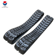 your excavator synthetic rubber running track material EX20UR track rubber pad 250x52,5x76