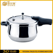 (OURS) Safety Stainless Steel Commercial Pressure Cooker