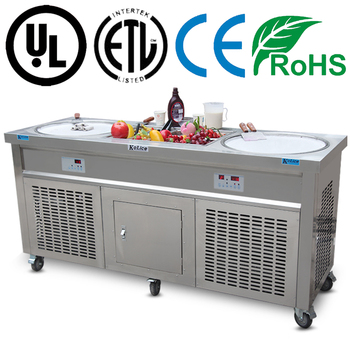 Professional Instant Ice Cream Rolls Machine 220V/ 110V
