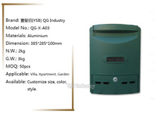 QG Industry Wholesale Odm/Oem Design Drawing Mailbox