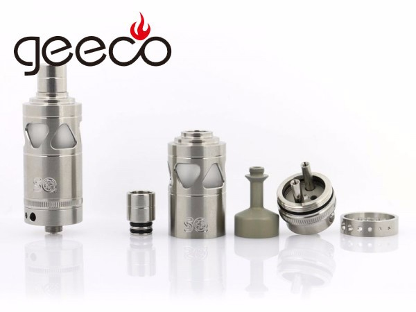 2015 the best selling squape RS rda with adjustable Airflow squape rs/squape reloaded 1:1 clone with zero mod from Geeco