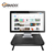 370*290*105 mm Wholesale Metal Cheap Computer Monitor riser, Laptop Stand With Keyboard storage space