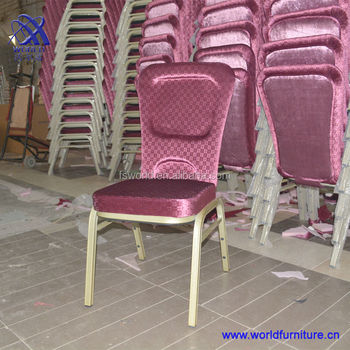 with elastic back chair used for restaurant
