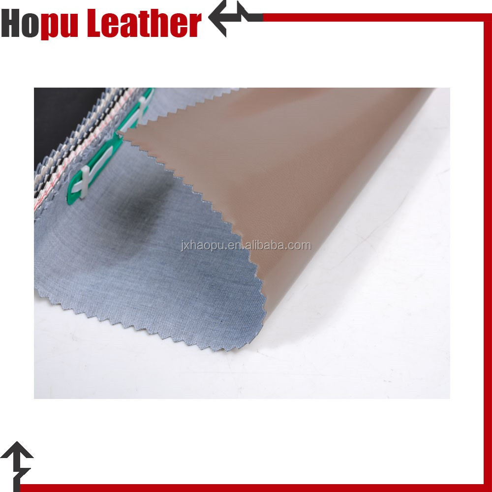 pu synthetic and artificial leather for watch box made in china