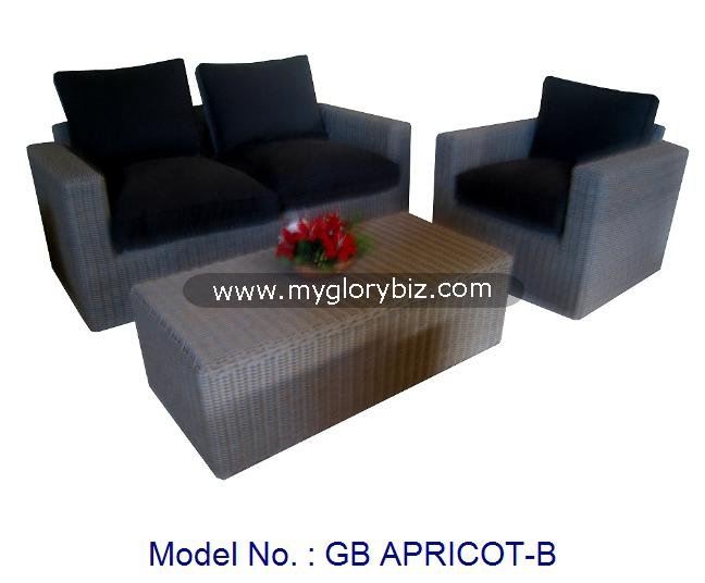 Home Garden Outdoor Furniture Sofa In Set With Modern Design, Rattan Sofa Set, Outdoor Rattan Garden Furniture High Quality