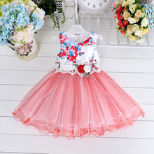 Wholesale beautiful children girls dress fancy party frock design for baby girl