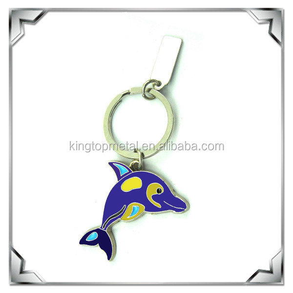Beauty Dolphin keyrings for Beach Tourist