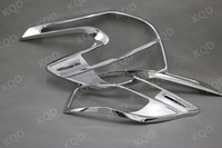Top brand TOYOTA car decoration accessories ABS plastic Chrome Tail Lamp Cover for TOYOTA YARIS 2014