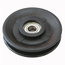gym 90mm/100mm/110mm pulley wheel for cable, plastic pulley wheels for gym <strong>equipment</strong>