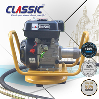 CLASSIC CHINA BS168f 5.5HP Gasoline Concrete Vibrator, High Quality Portable Parts Of Concrete Vibrator Price