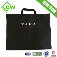 High End Non Woven Custom Garment Bags Wholesale For Mens Suit