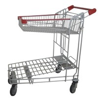 RH-WT11 Tally Folding Cart Hand Push Cart For Warehouse