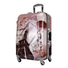 SYMPATHY eminent travel eiffel tower luggage/funny suitcase