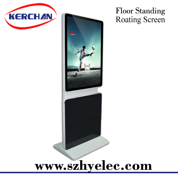 HD 42inch anti-theft display stand gas station digital signage