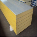 Professional heat retaining polyurethane PU sandwich panels for prefab building materials