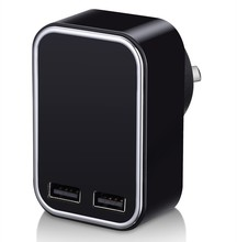 Universal 2 USB Port Rapid Speed Power Adapter Wall Charger AC/DC Power Adapter Home Wall Charger Plug For Mobile Phone