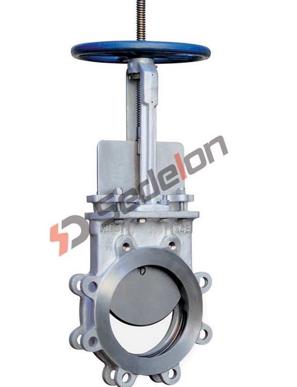 Hydraulic/Pneumatic/Electric Cast Steel Knife Gate Valve