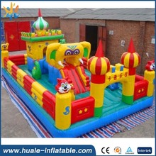 2017 Most popular kids fun city inflatable bouncer Playground for sale