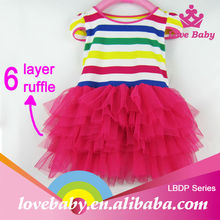 Boutique stylish new dress baby fashion