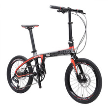 20 inches carbon frame portable folding bike mini light weight fold up bike best cheap foldable bike for sales