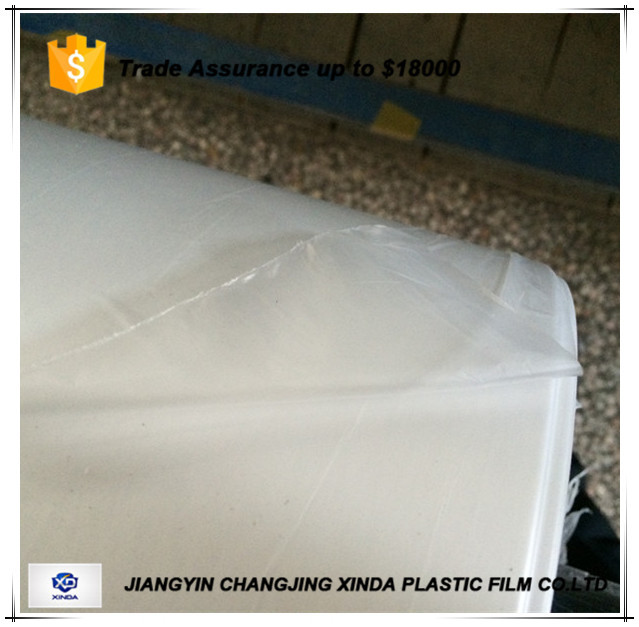 HDPE film for clear packaging bag