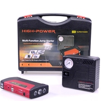 16800mah Power Bank Battery Booster Car Jump Start Starter 12V Portable Jump Starter with Air Compressor TM-15A