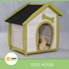 Dog House with pitch roof