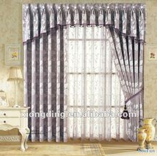 2012 new design Fashionable jacquard curtain
