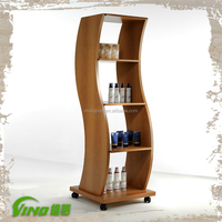 Cheap Beauty Salon Equipment, Hair Salon Display Shelf, Display Shelf of Salon Furniture