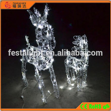 Outdoor light artificial reindeer christmas decorations