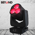 Guangzhou led light 3x 4in1 rgbw 60w led zoom wash moving head with single led control