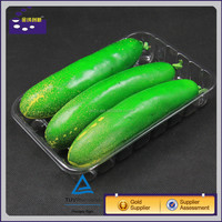 PP large plastic food tray for fruits/vegetables/plastic rectangular tray for vegetable