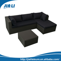 China factory rattan or wicker furniture with cushion
