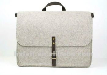 Practical High Quality Handbag Made Of Wool Felt,Logo print is available